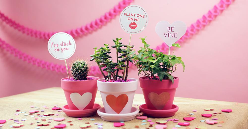 Centrotavola San Valentino fai da te messaggi