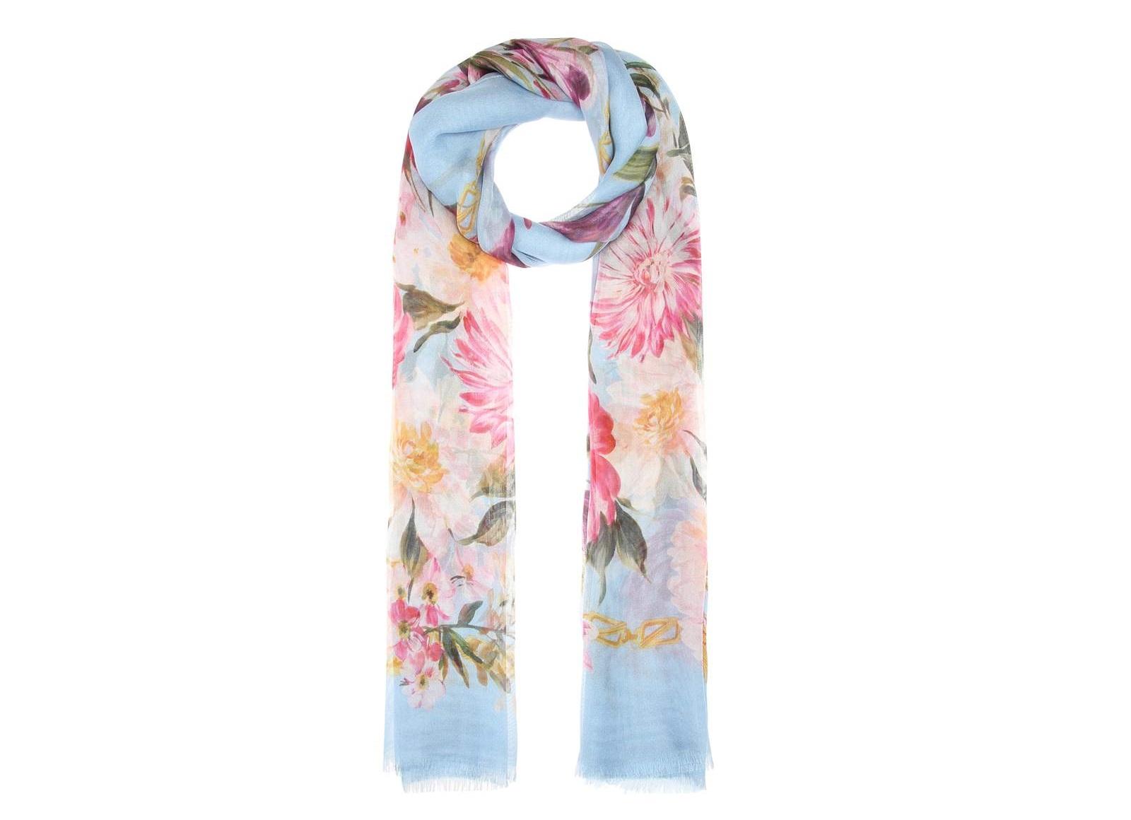 Foulard a fiori Dolce & Gabbana