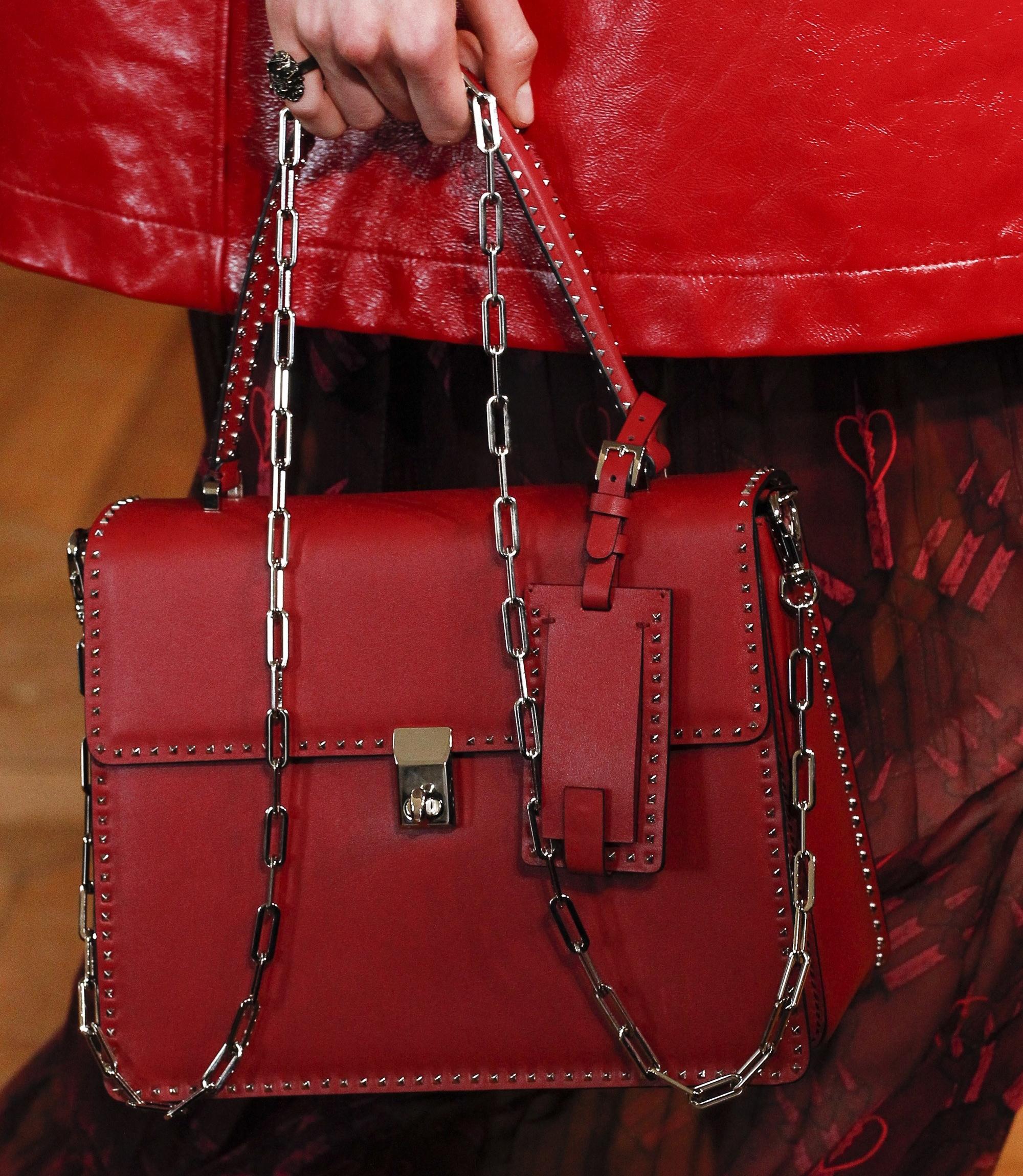 Handbag rossa Valentino