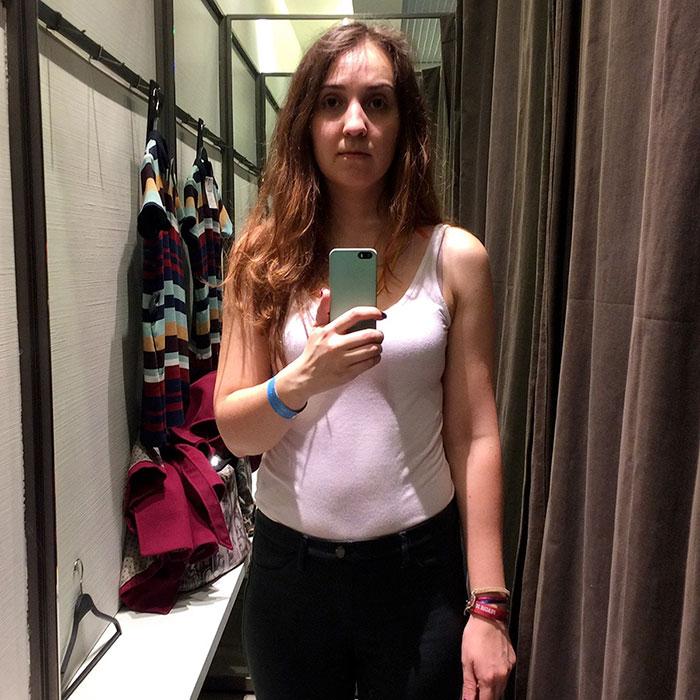 Il selfie da Zara