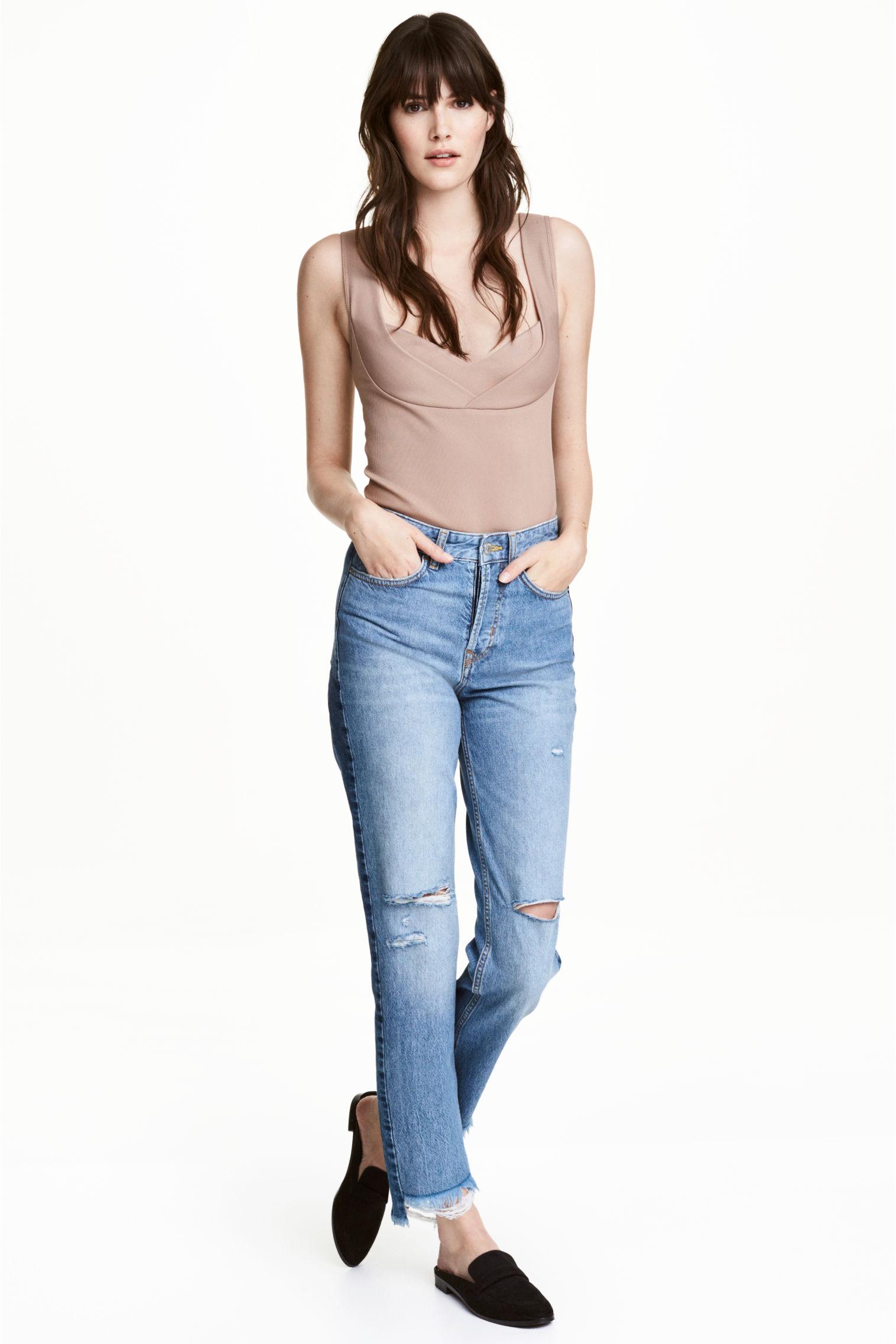 Jeans con strappi H&M