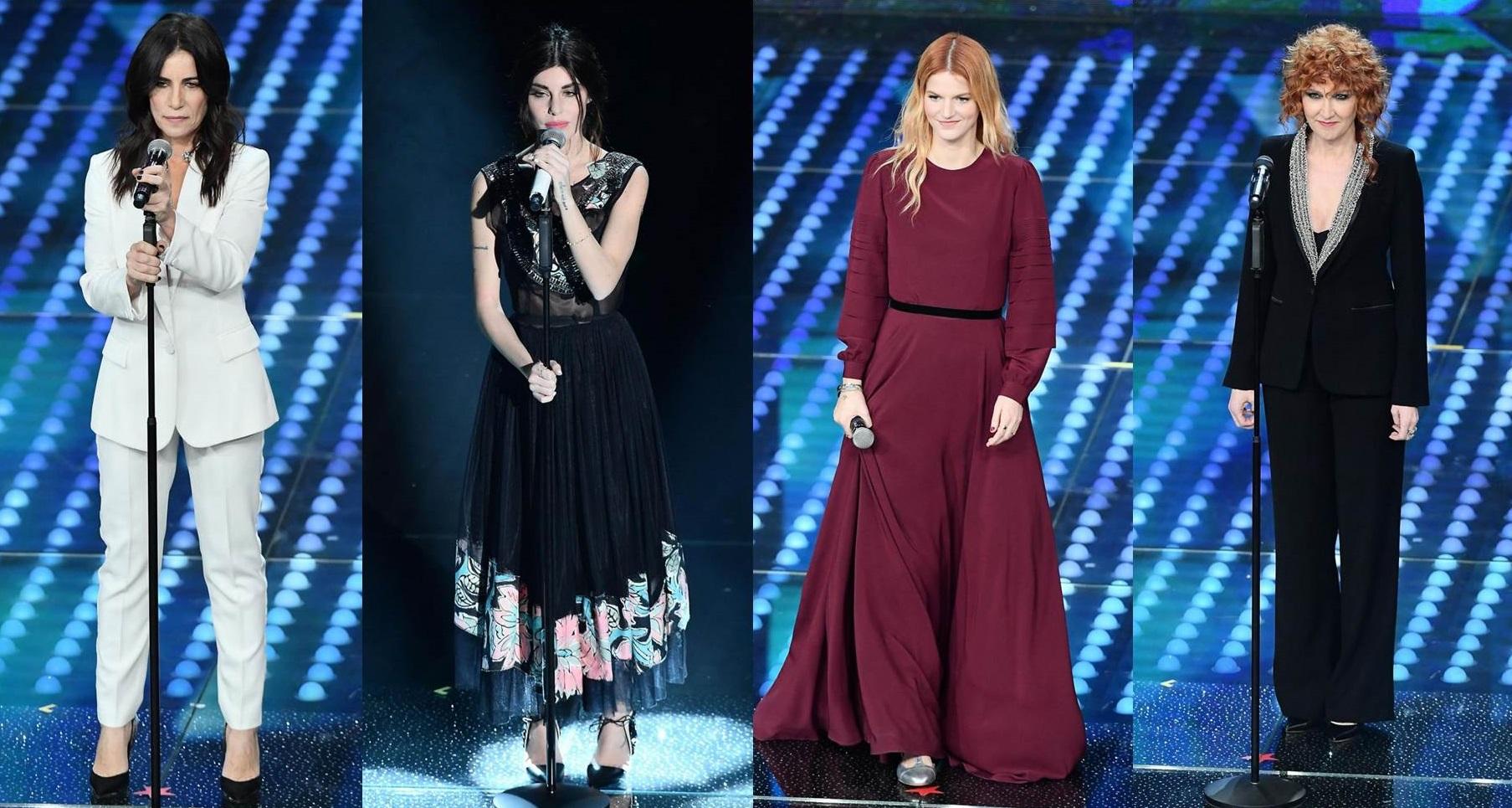 Le cantanti a Sanremo 2017