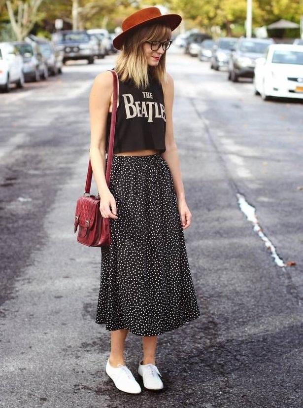 Look in stile hipster vintage