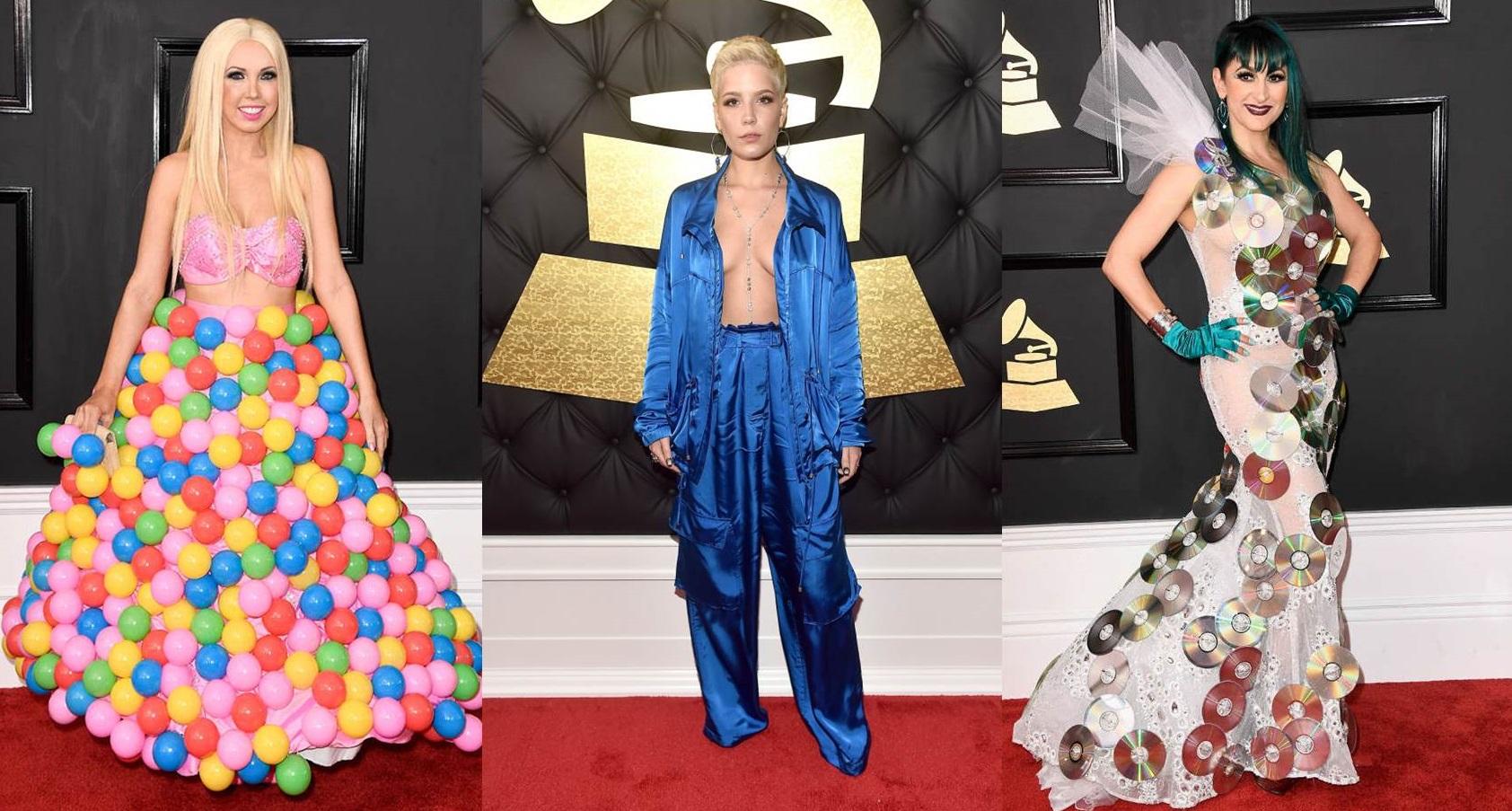Look peggiori ai Grammy 2017