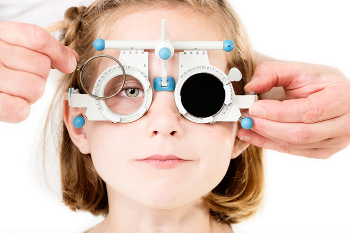 Occhio pigro sintomi