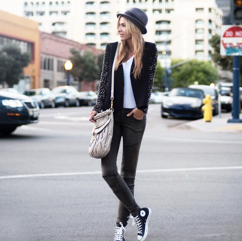 Outfit in stile hipster
