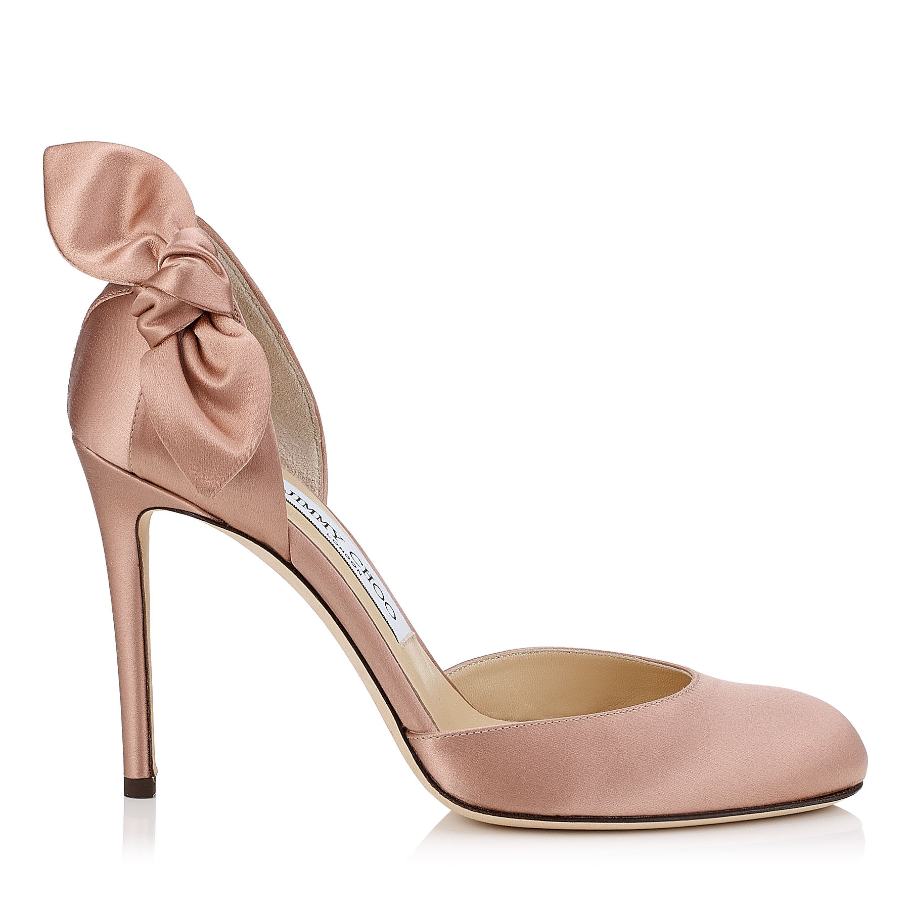 Pumps in satin