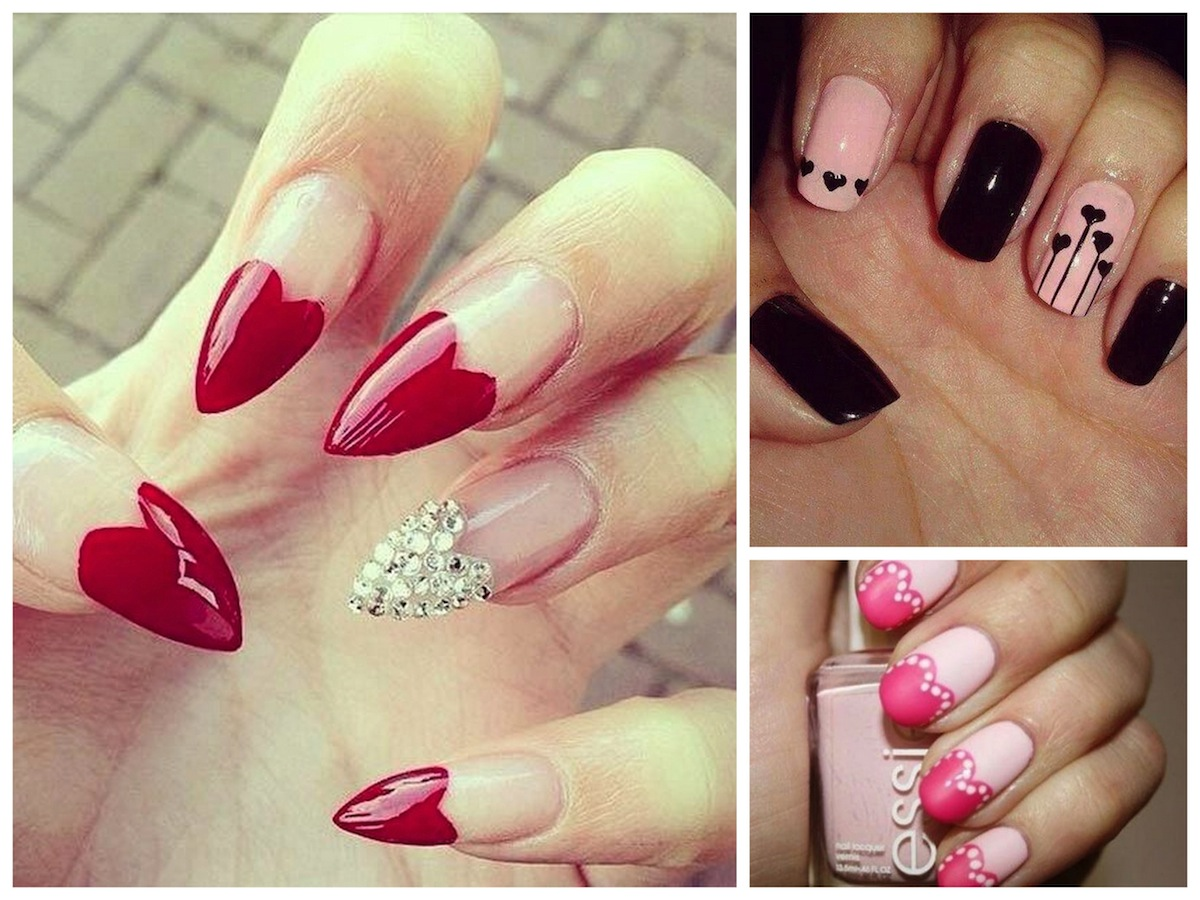Quali unghie per san valentino preferisci