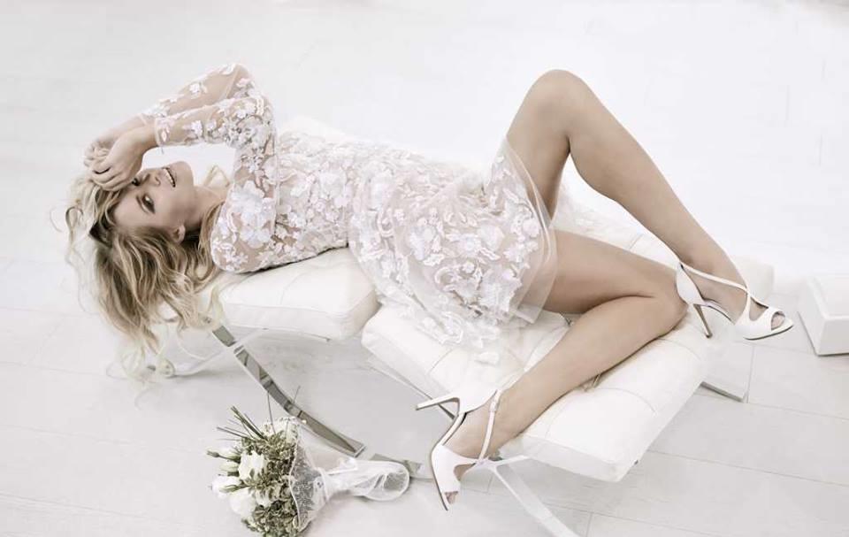 Sandali bianchi Albano da sposa (2)