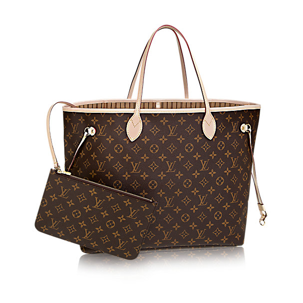 Shopper Neverful GM Louis Vuitton in tela Monogram
