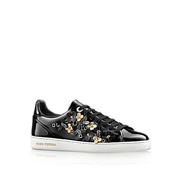 Sneakers con fiori