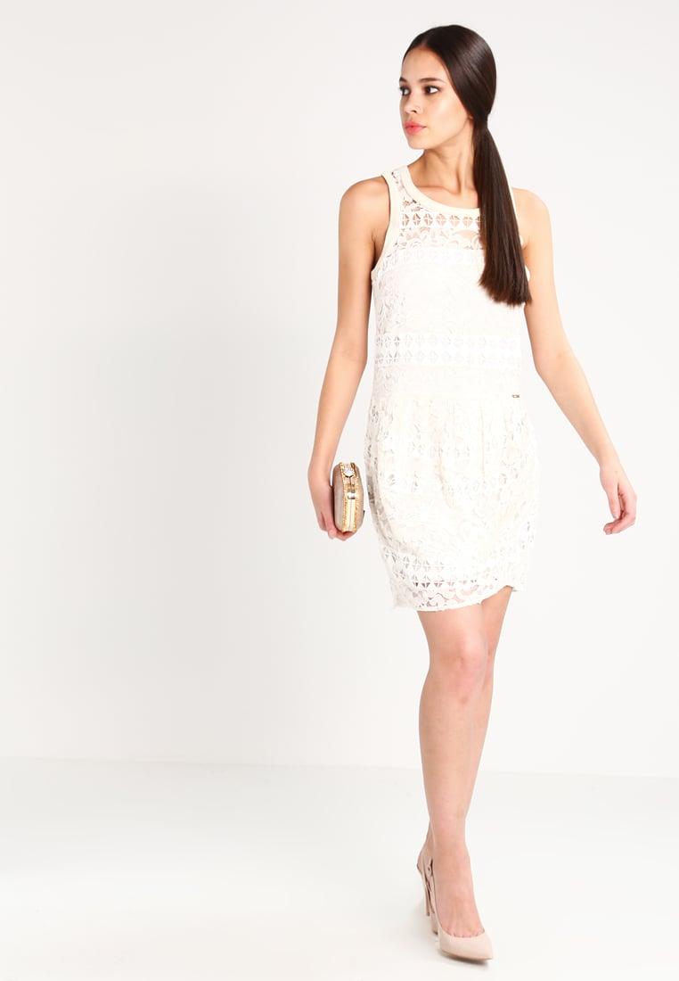 Vestito bianco in pizzo Guess
