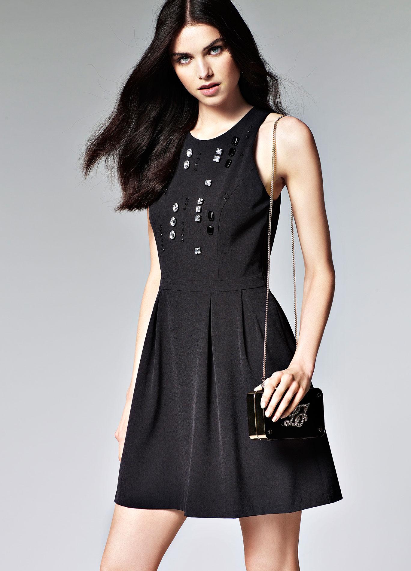 Vestito corto nero Liu Jo