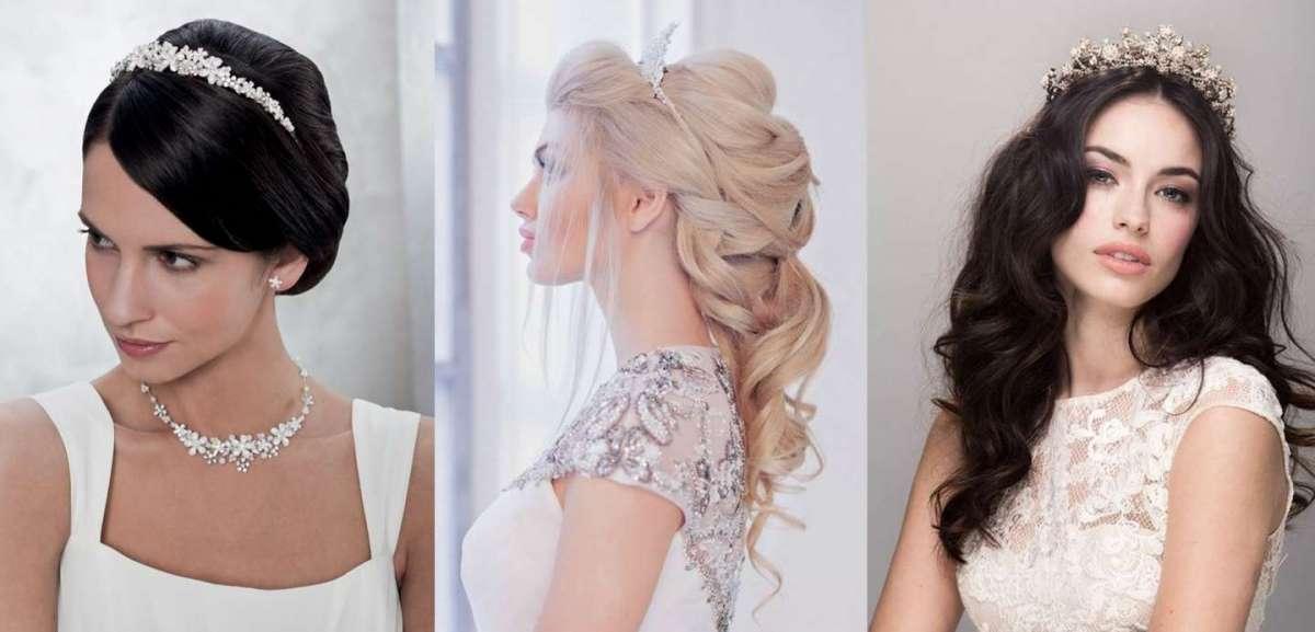 Acconciature da sposa con la tiara: le più eleganti per il giorno del sì
