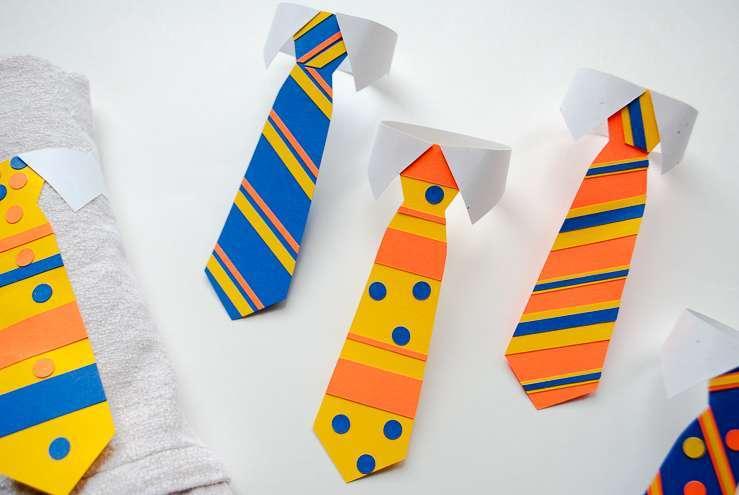 Cravatte Fai Da Te Tante Idee Per La Festa Del Papà Foto Pourfemme