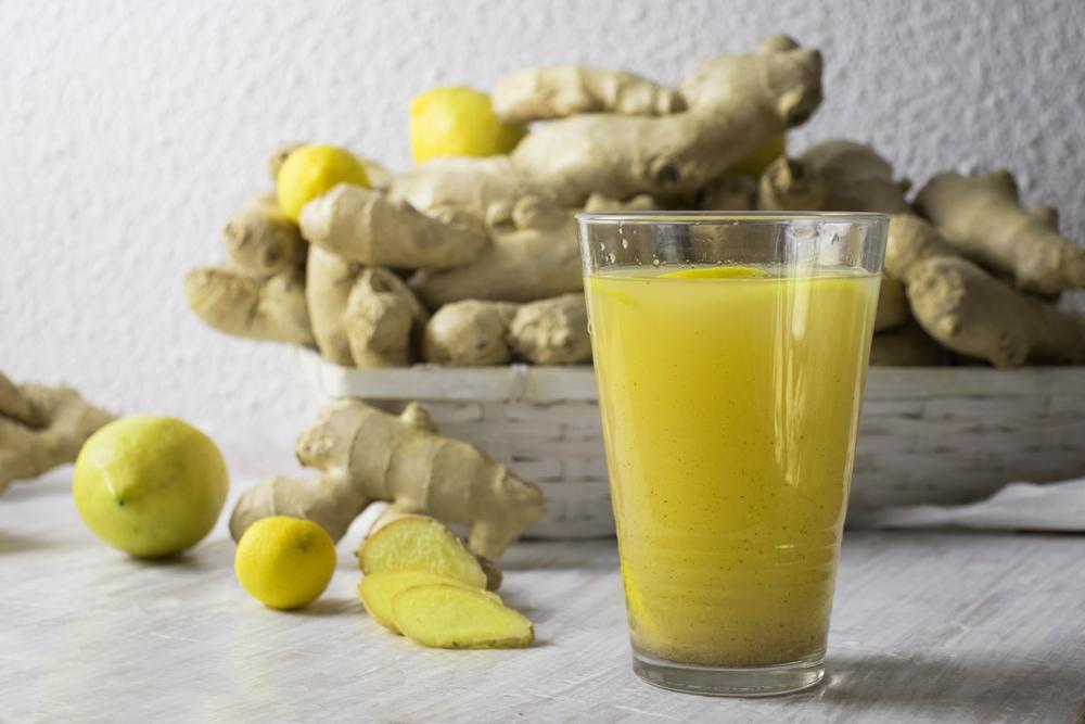 centrifugato pancia piatta limone zenzero