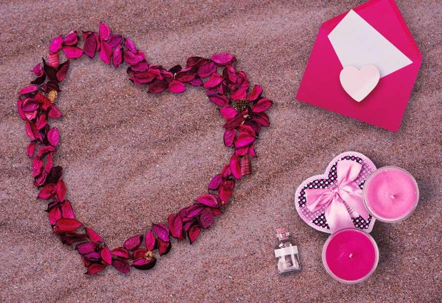 Centrotavola San Valentino fai da te: tante idee originali