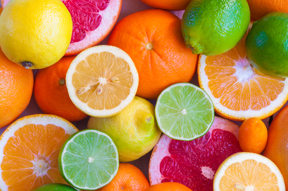 cibi anticellulite agrumi arance pompelmi lime limoni mandarini