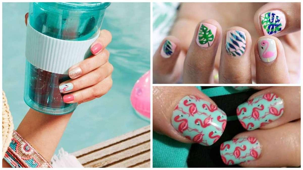 Fenicotteri sulle unghie: le idee social più originali delle #flamingonails