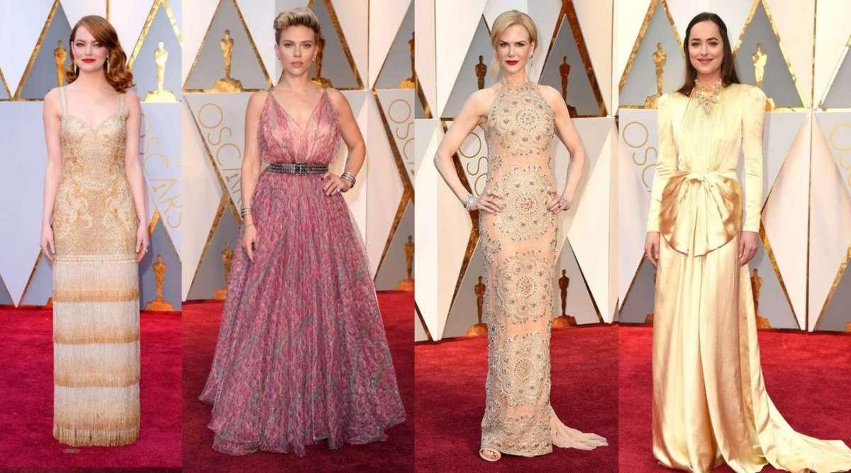 low priced 92e29 4bca2 Oscar 2017: gli abiti e i look più fashion delle star [FOTO ...