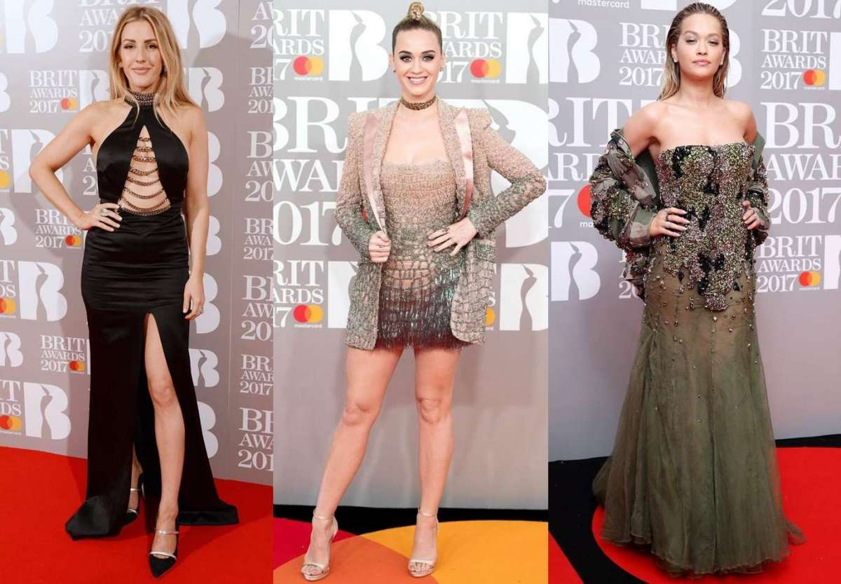 Brit Awards 2017: i look delle star sul red carpet [FOTO]