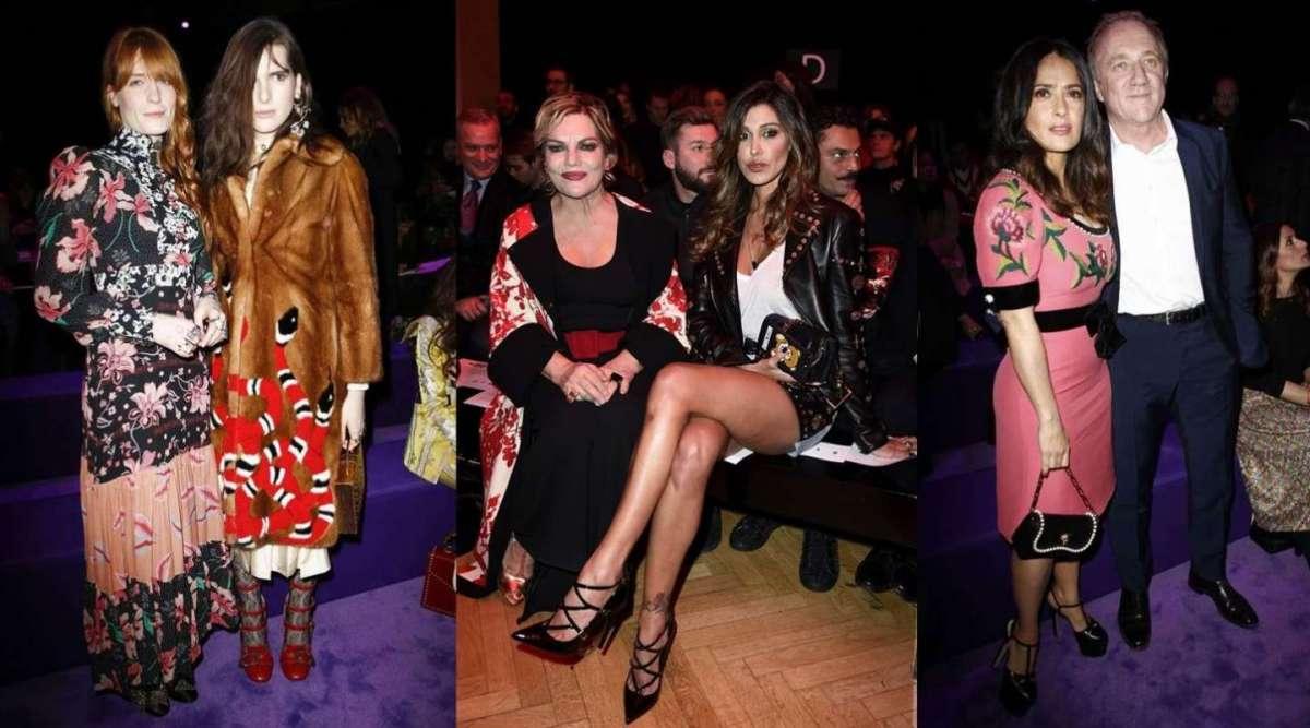 I vip a Milano Moda Donna  i look delle star alle sfilate  FOTO ... abf92ae1a6b