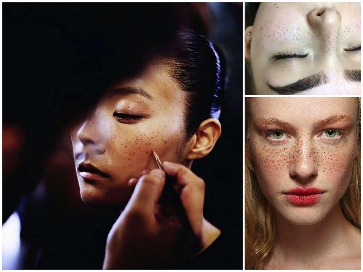 Le finte lentiggini, il nuovo (pazzo) trend beauty ispirato a Meghan Markle