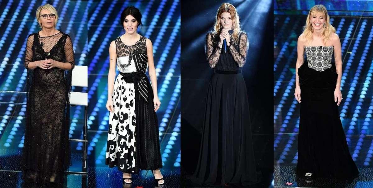 Sanremo 2017: gli abiti della seconda serata [FOTO]