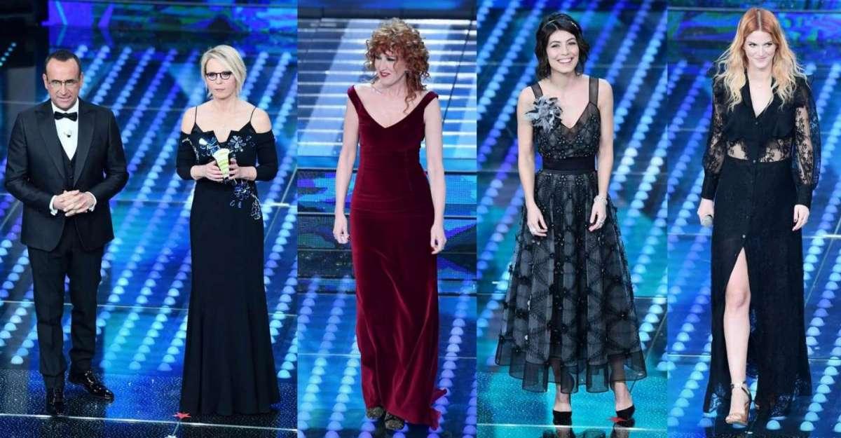 Sanremo 2017: gli abiti della finale [FOTO]