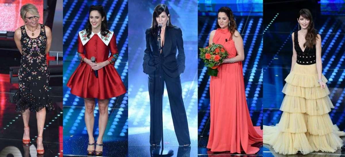 Sanremo 2017: gli abiti della terza serata [FOTO]