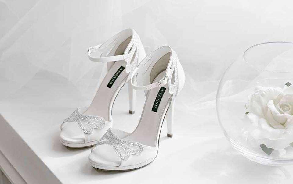 Scarpe da sposa Albano 2017  la nuova collezione  FOTO   5bfac5db1bf