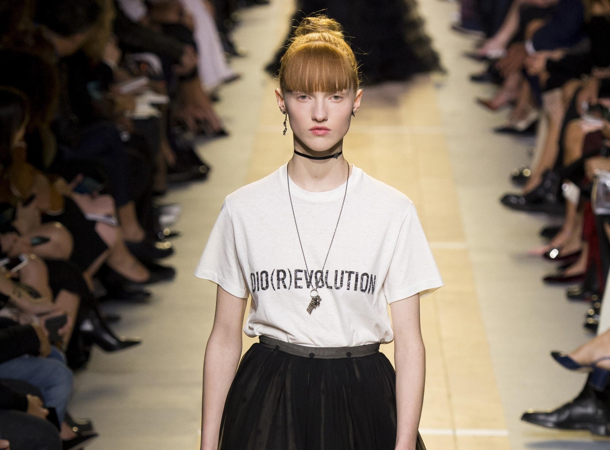t shirt con stampa dior