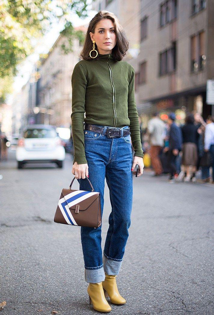 Abbinare gli stivaletti ai jeans