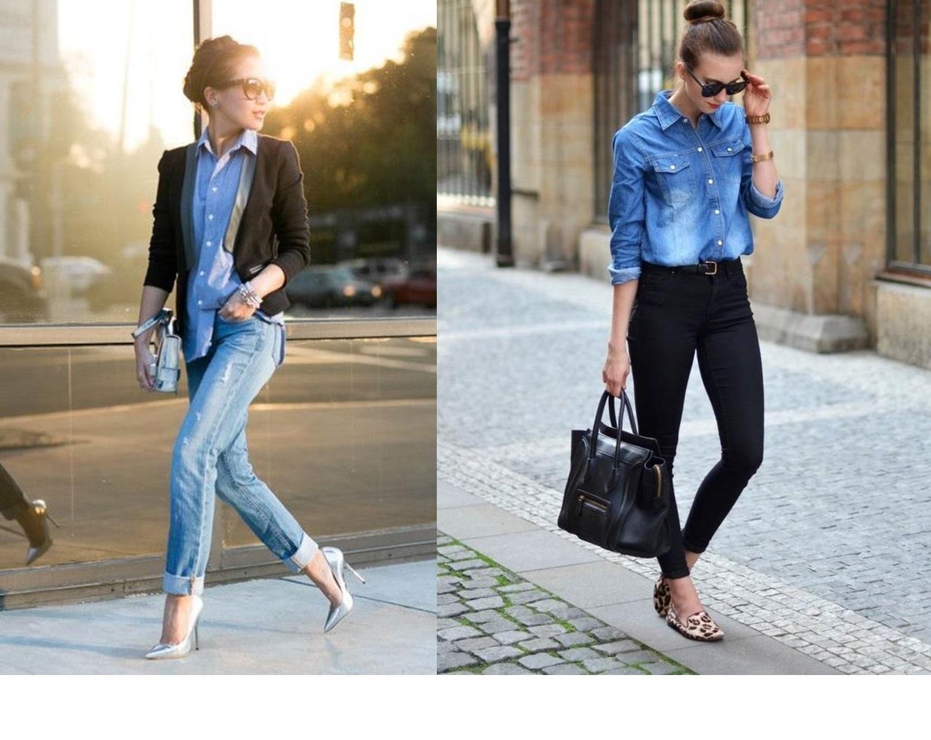 Sai abbinare la camicia di jeans? [TEST]