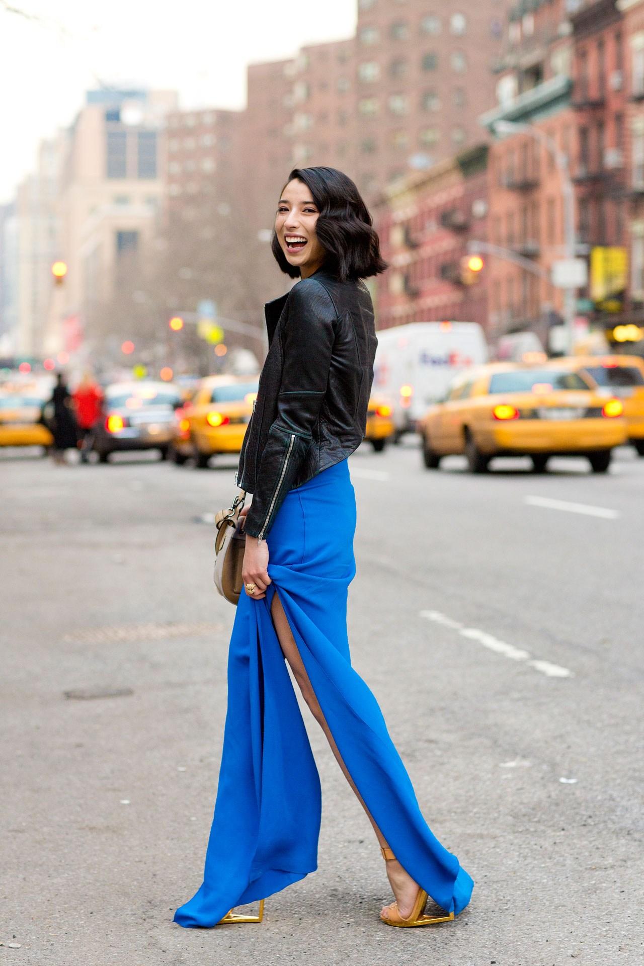 ef5f5771040c Come abbinare gli abiti lunghi  consigli per look fashion e di ...