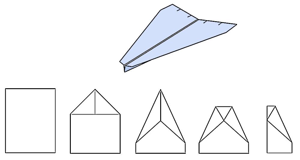 Aeroplanini di carta1