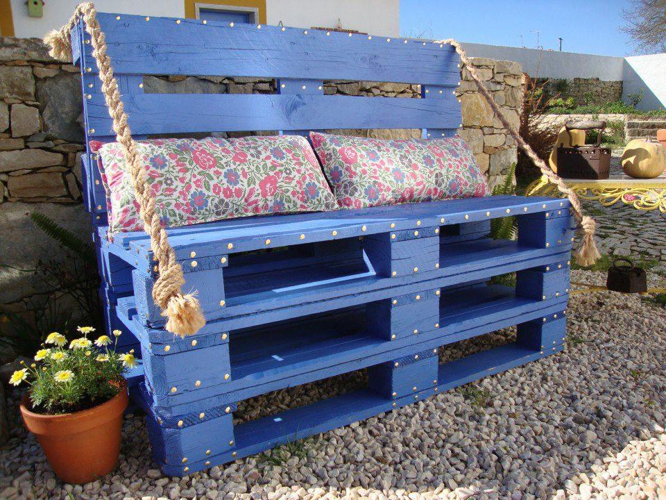 Bancali di legno, l'arredamento dalle idee di riciclo creativo
