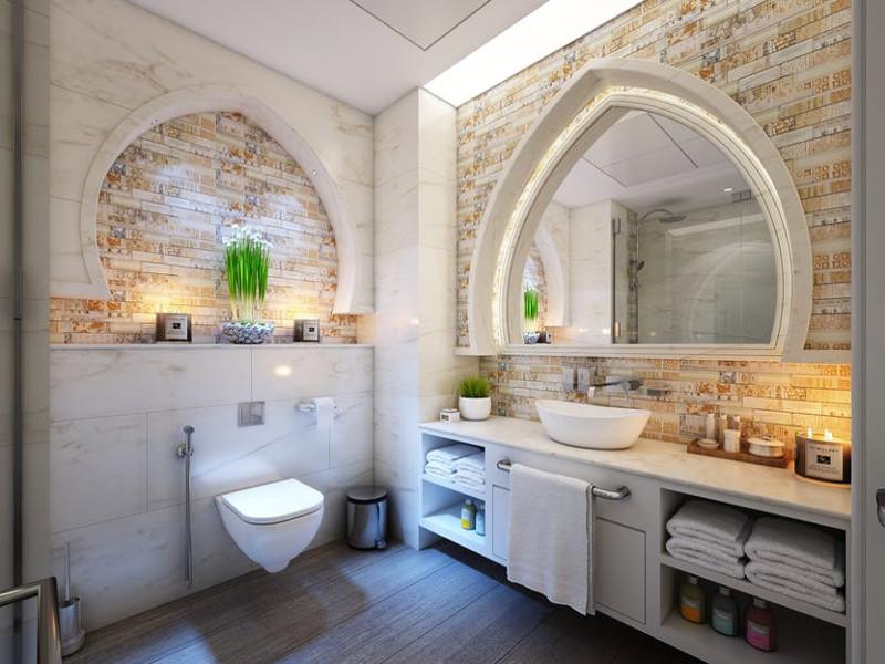 Come pulire le piastrelle del bagno e della cucina pourfemme
