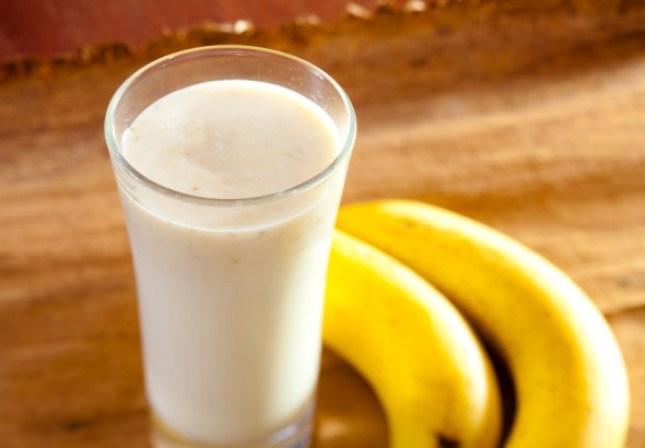 Banana e latte