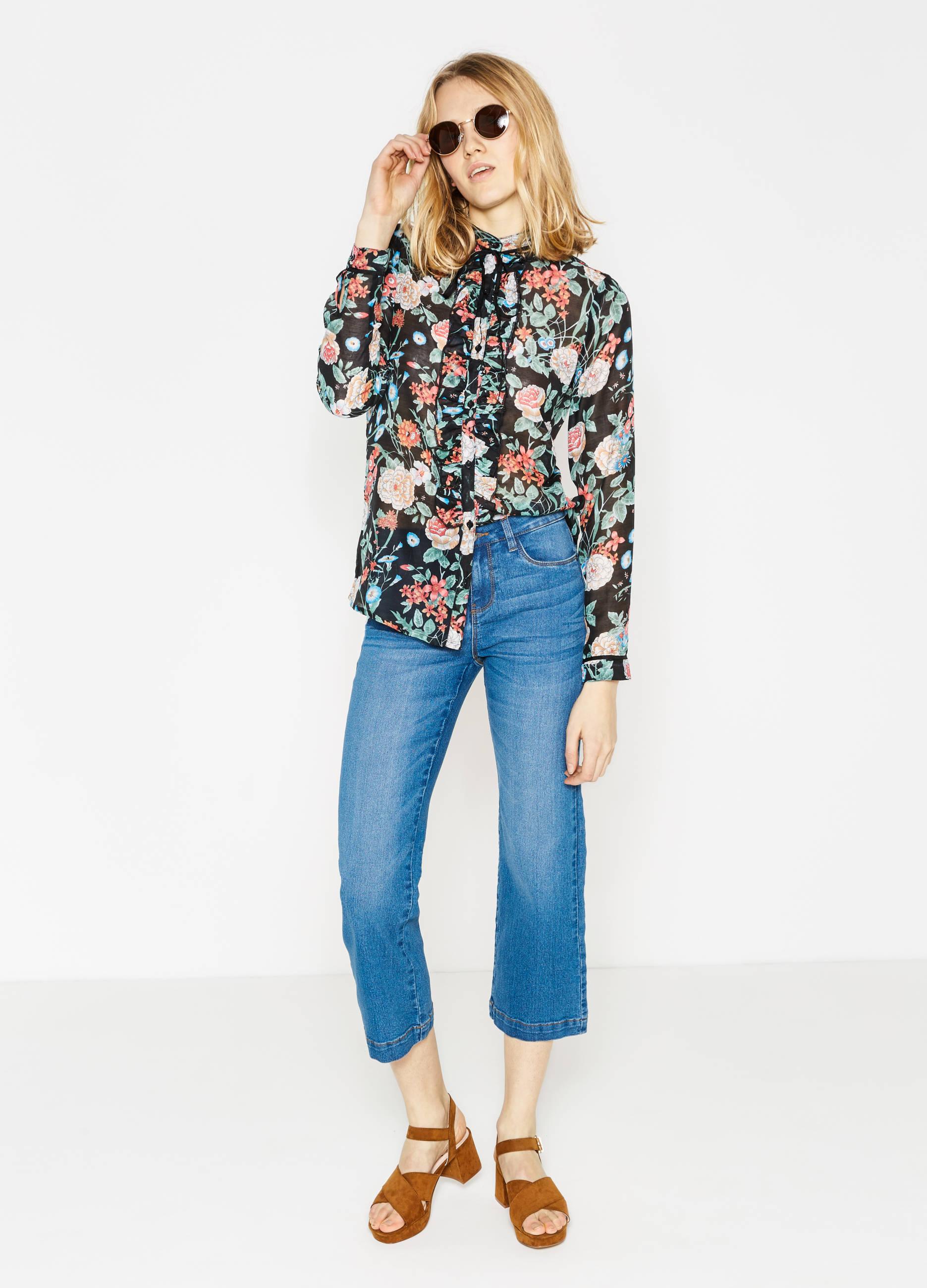 Camicia a fiori Oviesse