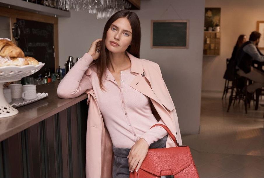 Cappotto rosa Oviesse