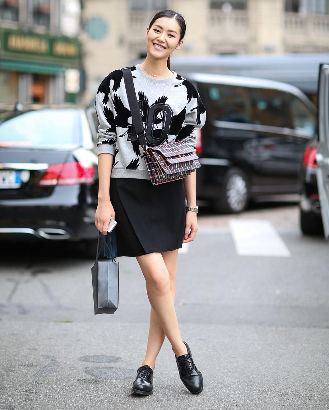 Come abbinare le scarpe francesine nere da donna