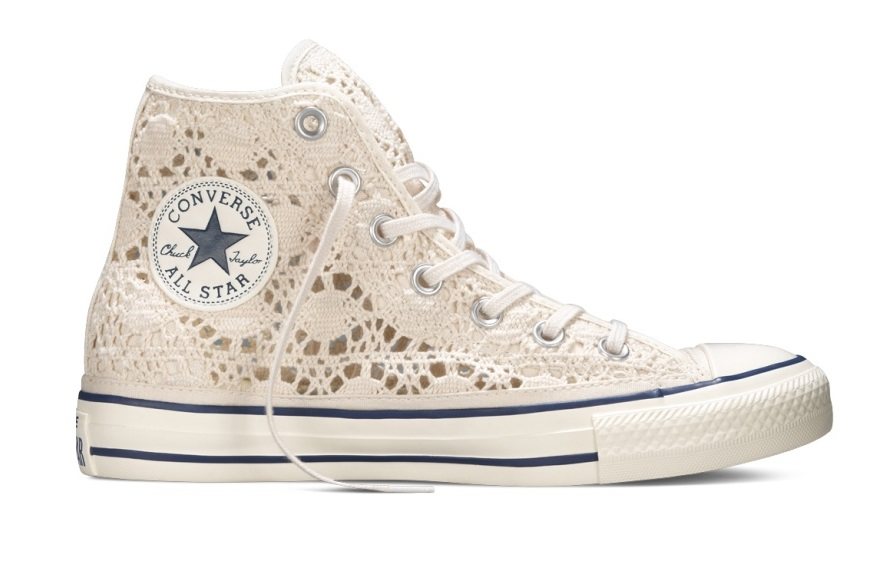 Converse All Star Chuck Taylor crochet