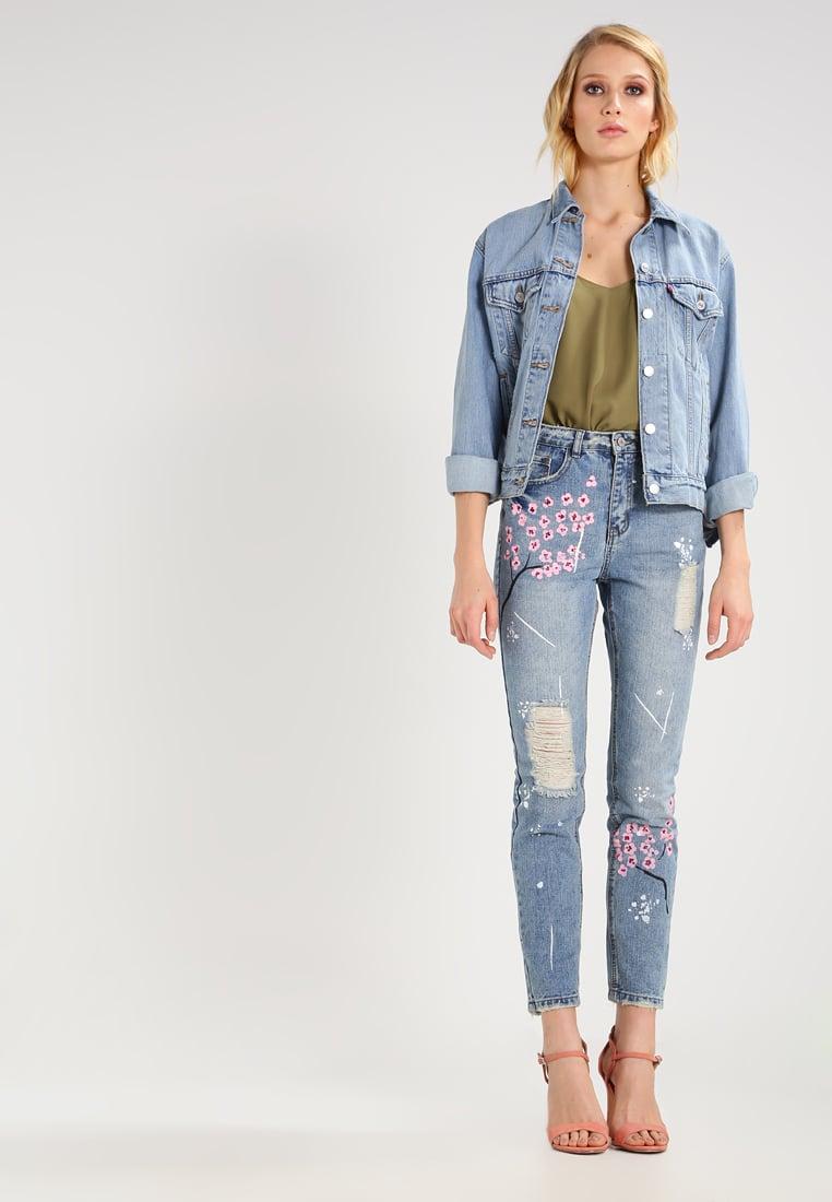 Jeans a fiori Missguided
