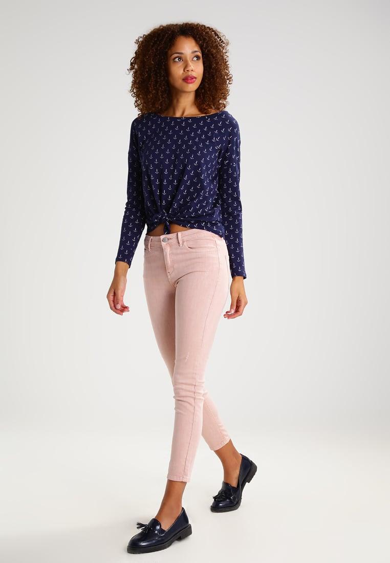 Jeans rosa a vita alta Springfield