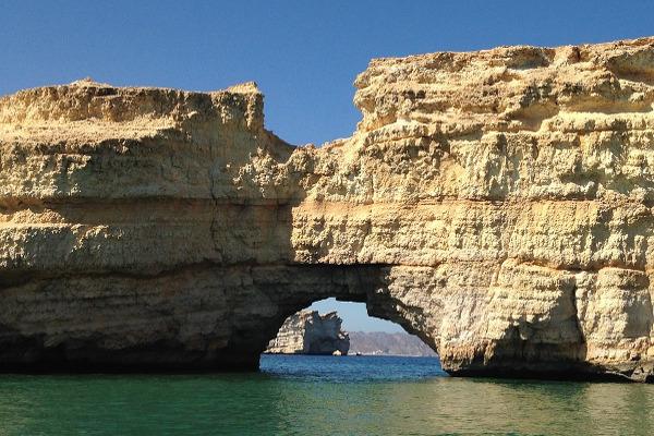 Oman mare spiaggia