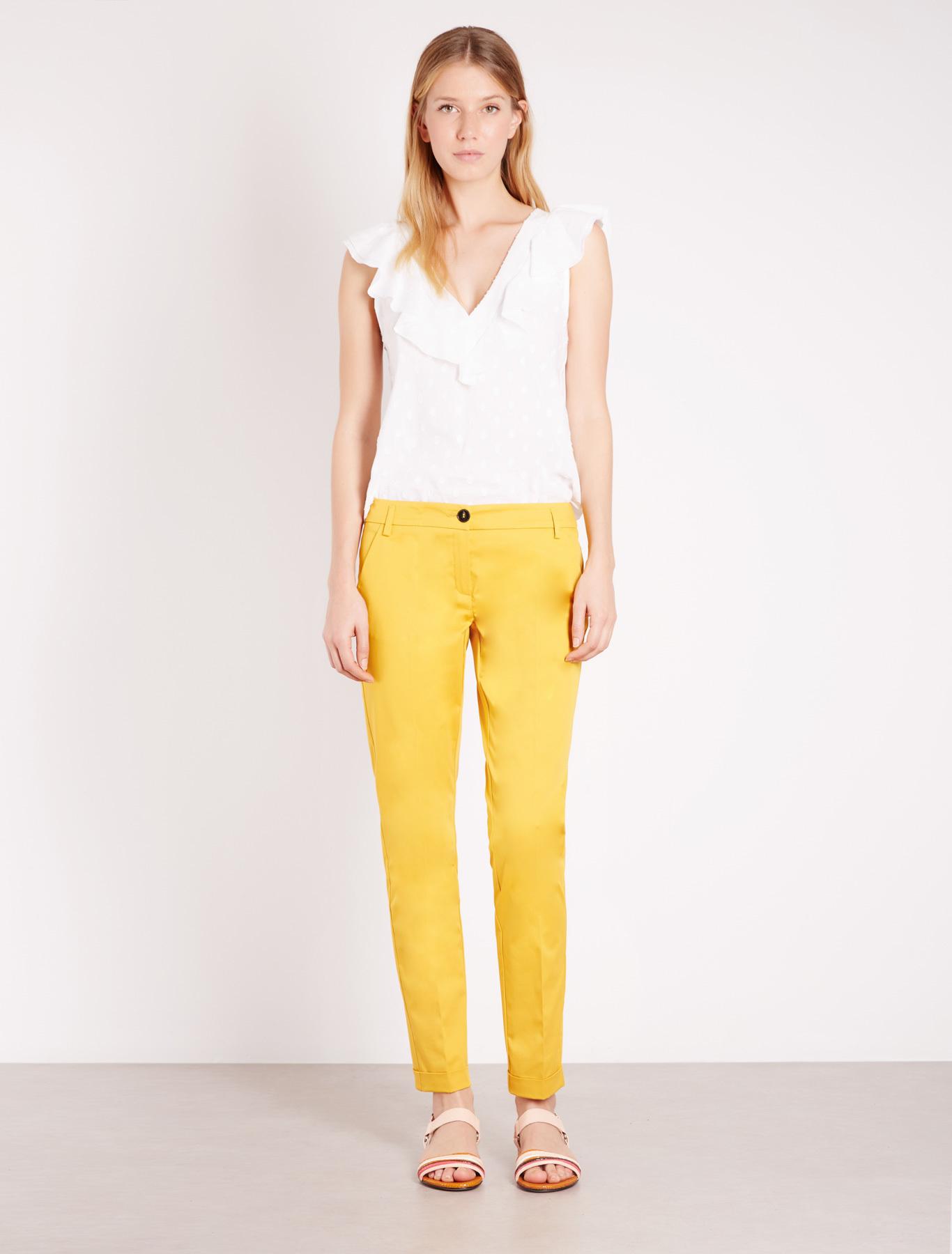 Pantaloni gialli Marella
