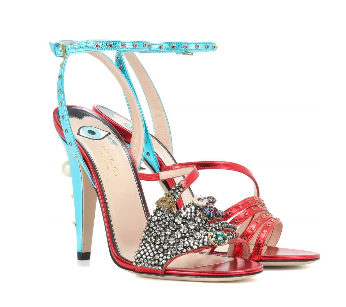 Sandali da cerimonia gioiello Gucci