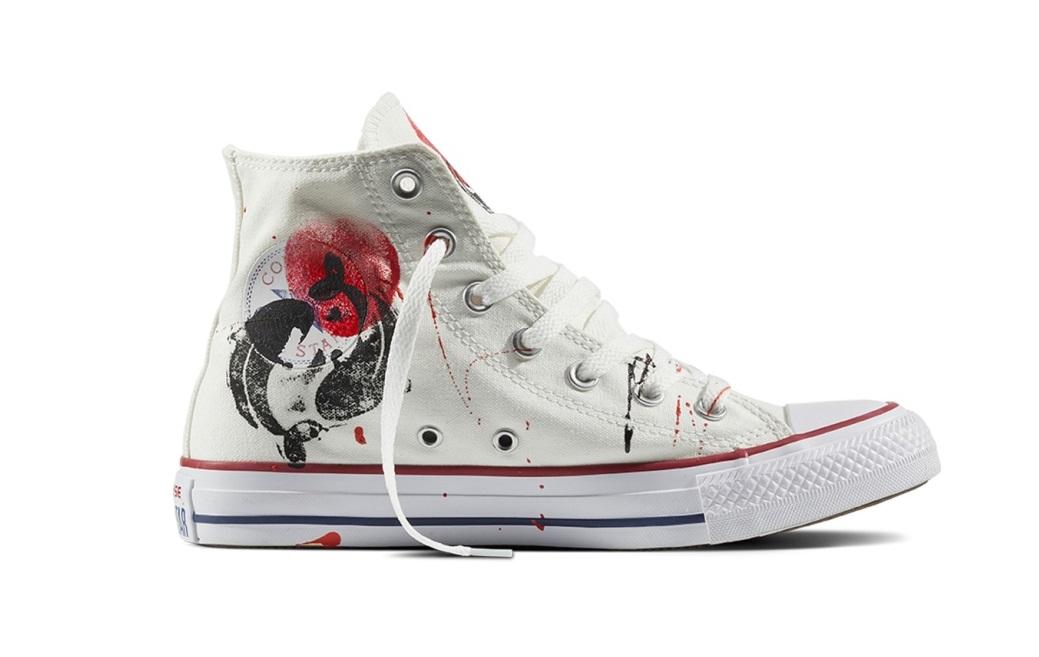Sneakers Converse dipinte a mano