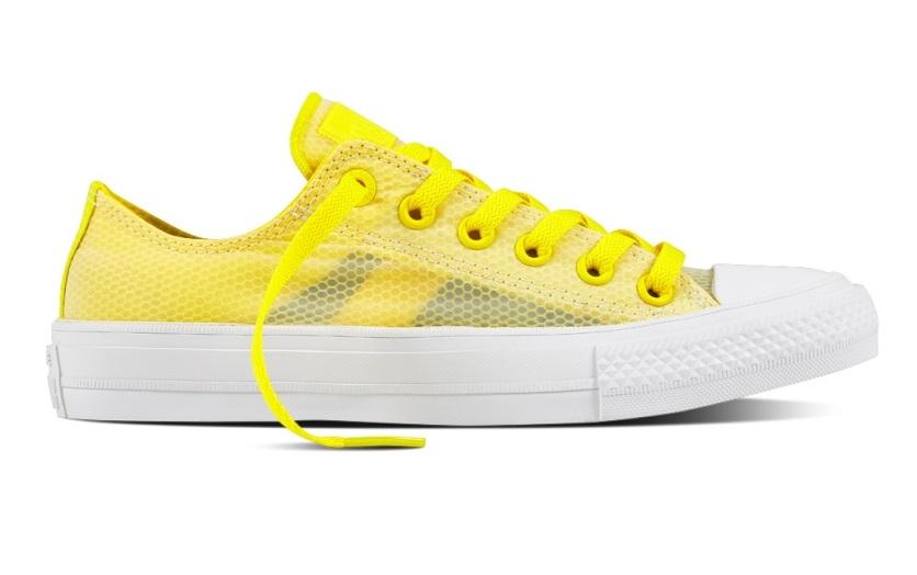 Sneakers gialle mesh